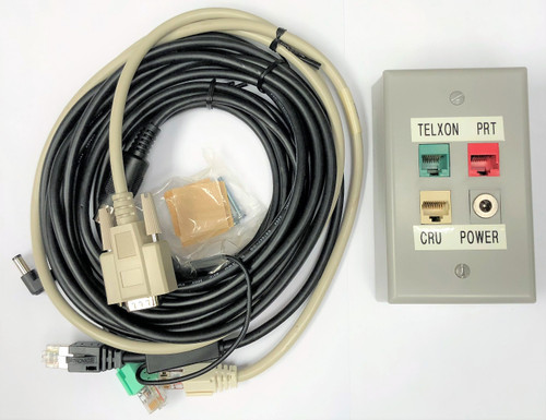 Telxon Miniwrap Interface Box Cable Set and Installation Kit for Barcode Scanner