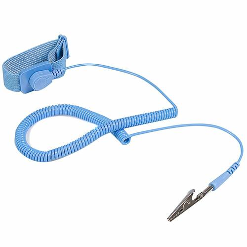 Generic 75217-01US Blue ESD Anti-Static Grounding Wrist Strap Band