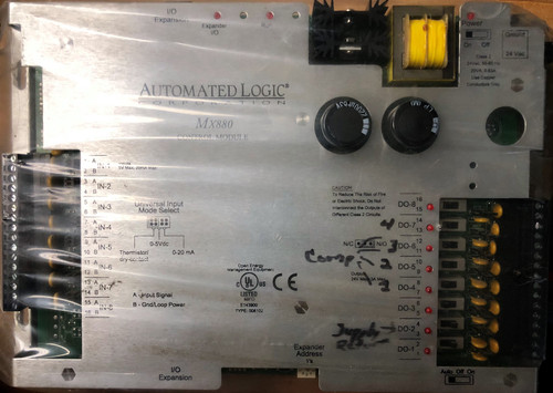 ALC Automated Logic Corporation MX880 Expander Control Module, 8 Output 8 Input