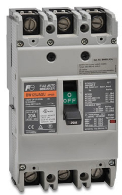 Fuji Electric SA103RCUL BB3ERDUL-020W Circuit Breaker