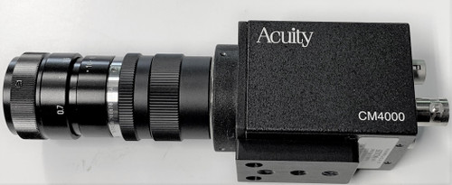 Acuity RVSI CM4000 With Lens C-Mount Camera for Machine Vision Systems, Analog