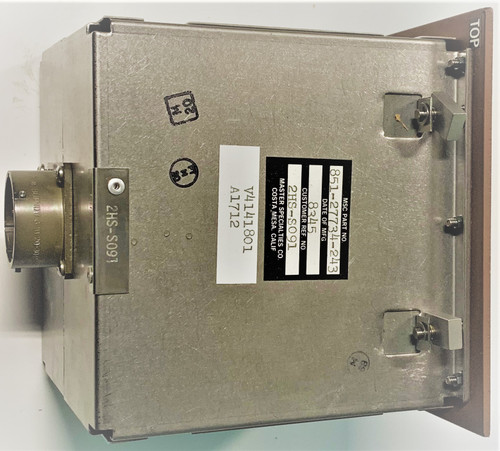 MSC Master Specialties Company 851-27734-243 2HS-S091 Switch Control Box