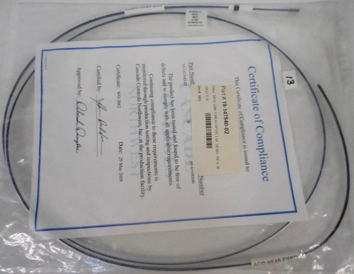 Novellus 19-147540-02 Fiber Optic LUL SNS Cable Cord Assembly