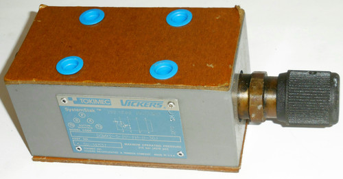 Tokimec Vickers DGMX2-5-PP-FH-B-30J 02-141137 SystemStak Hydraulic Stack Valve