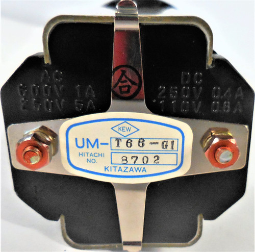 Hitachi UM-T66-G1 Rotary Selector Switch, Master Operation Selector
