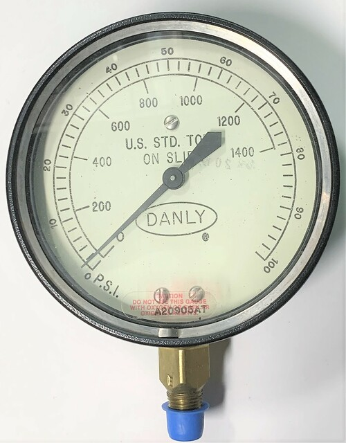 Helicoid Gauges Emerson 1C1E9A0A0000 Pressure Gauge, 410 ALSM 4BT 0/100 PSI S2