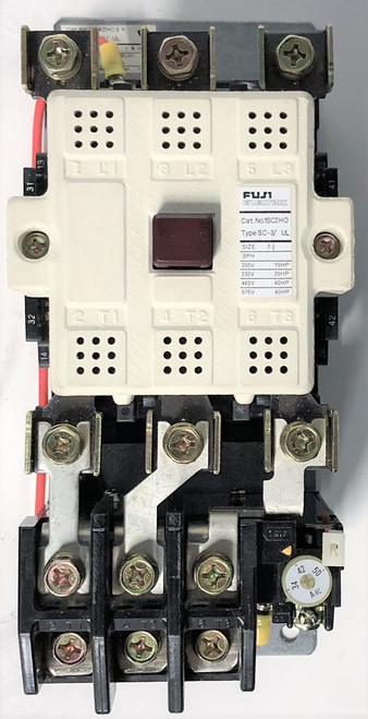 Fuji SW-3/UL (USA) 34-50A 1SC2HO Size 2-1/2 Magnetic Switch Contactor Starter