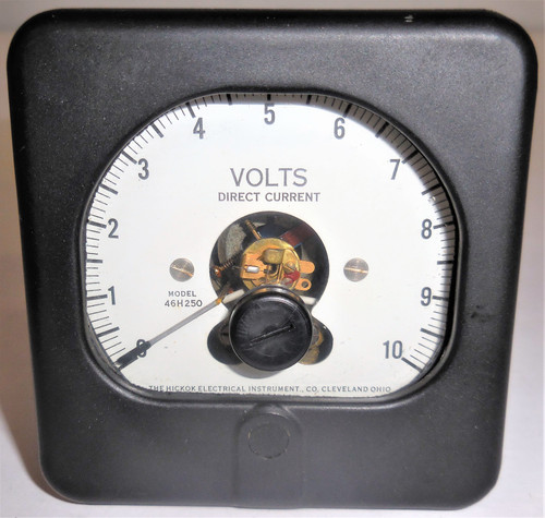 Weldcraft Hickok Unknown Panel Meter, 327-T 46H250, 28569 462-602, 0-10 Volts DC