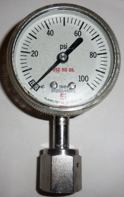 Span Theumling Indicating Pressure Switch, 21-0121-A1, 0-100 PSI