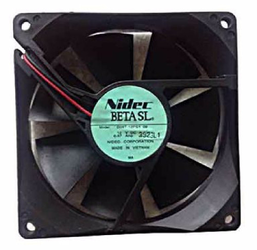 Nidec D09T-12PS1-09 Fan, 12VDC 0.37A, 92x92x25mm, 2-Wire