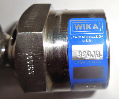 Wika 990.10 Diaphragm Seal With Threaded Connection, 0-300 PSI, S31603 Diaphragm