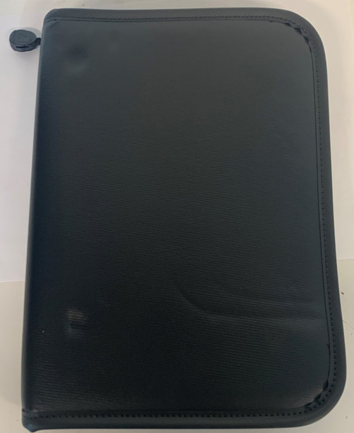Agora Does Not Apply Tool Binder With Zipper, Approx 11 x 8 x 2