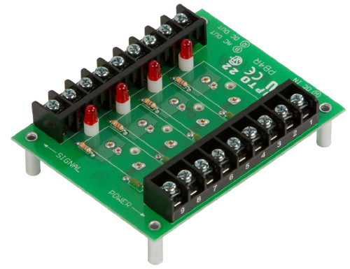 OPTO 22 PB4R G1 4-channel Isolated Output-only Module Rack
