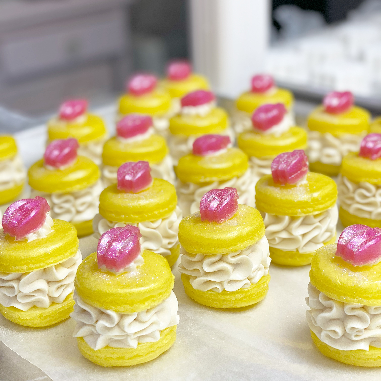 NEW! Pink Banana Coconut Macaron Soap