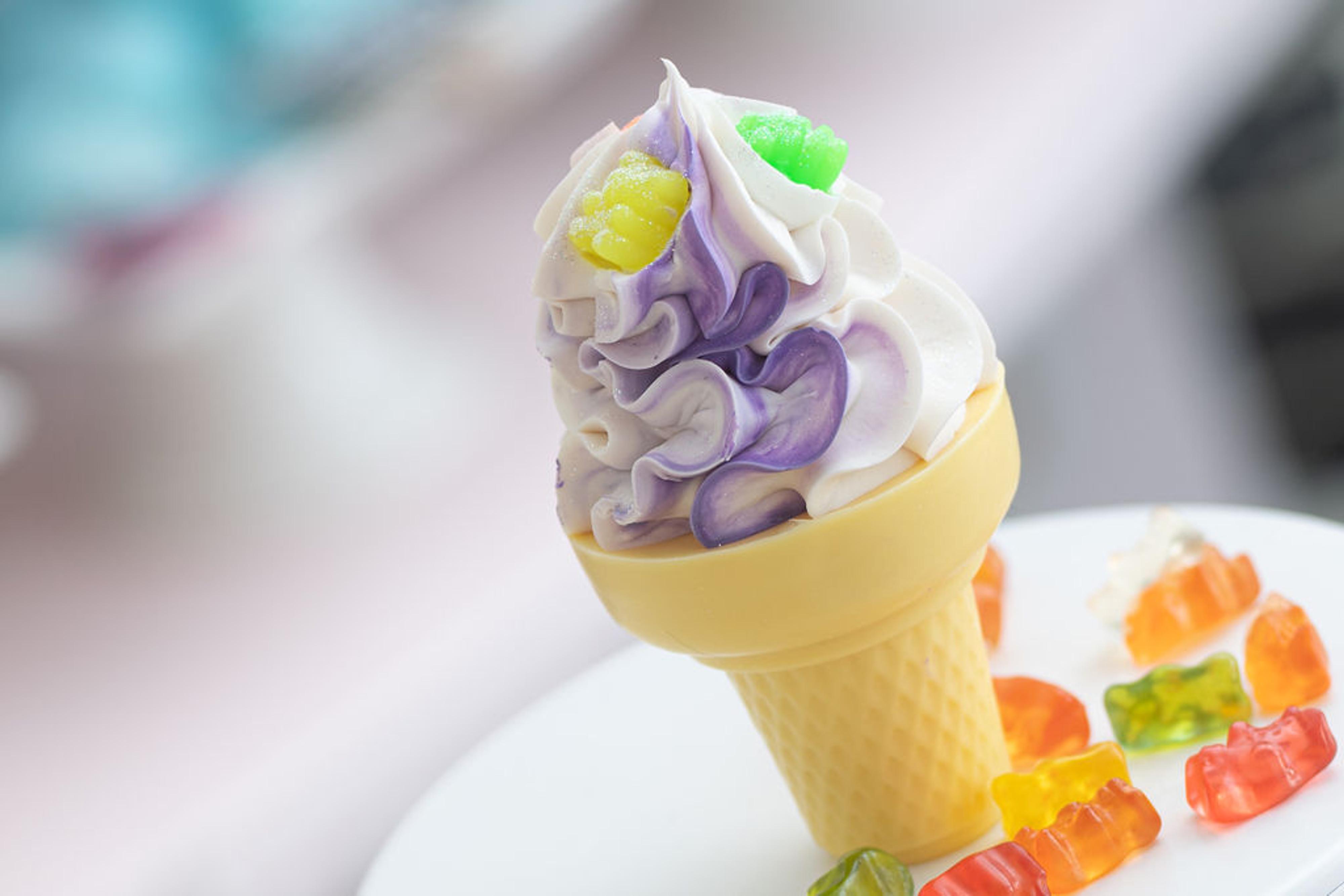 Gummy Bears Ice Cream Cone Soap