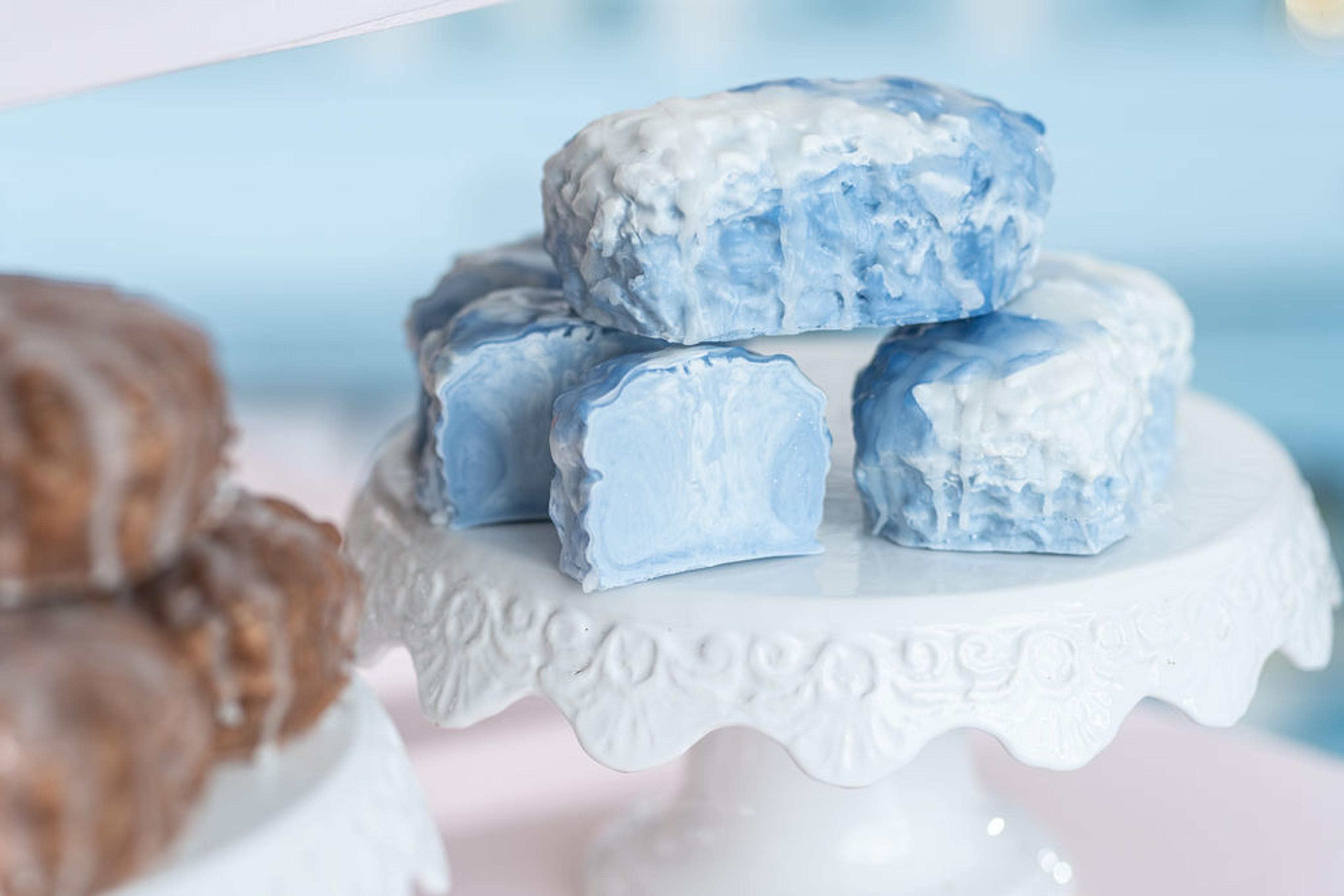 Bluebery Vanilla Soap Bake