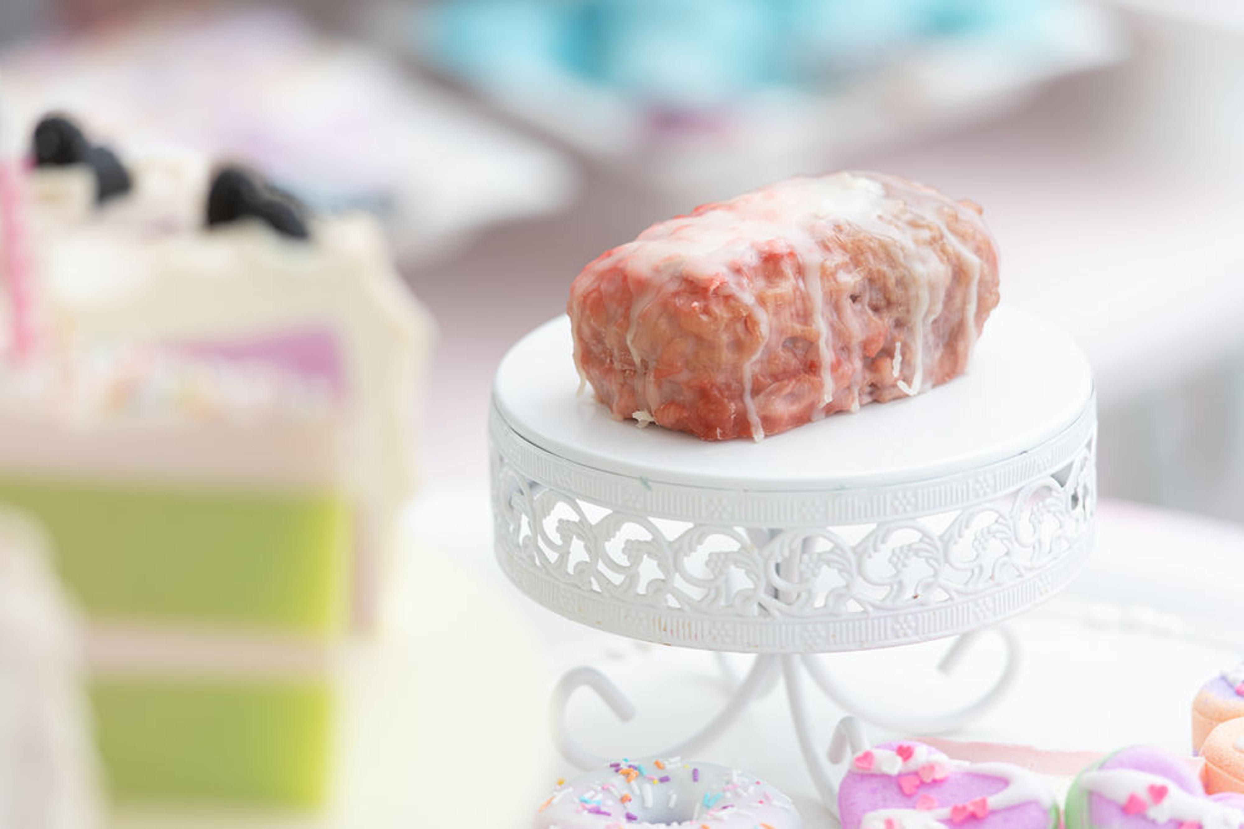 Strawberry Swirl Soap Bake