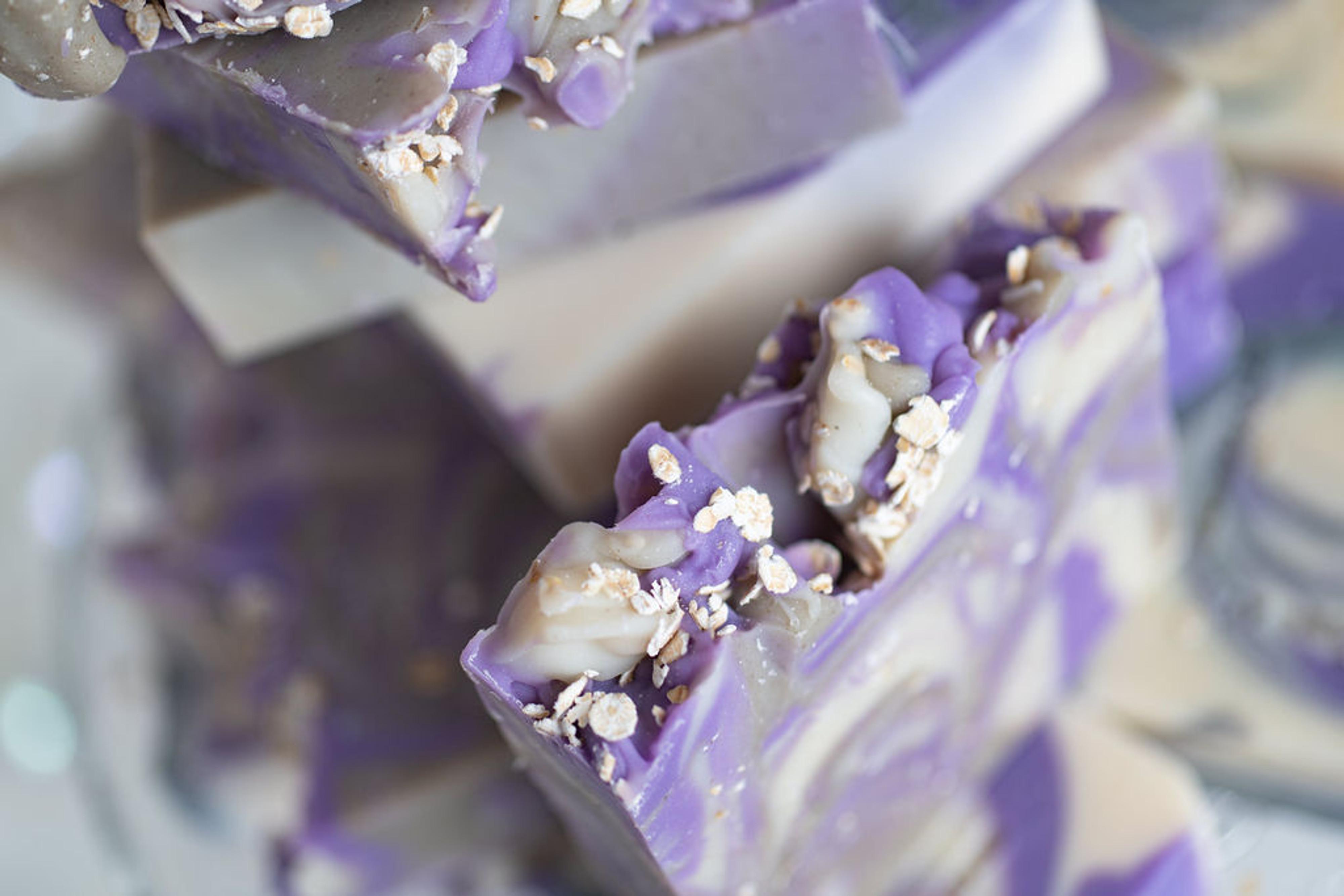 Lavender, Dead Sea Mud & Oatmeal Soap