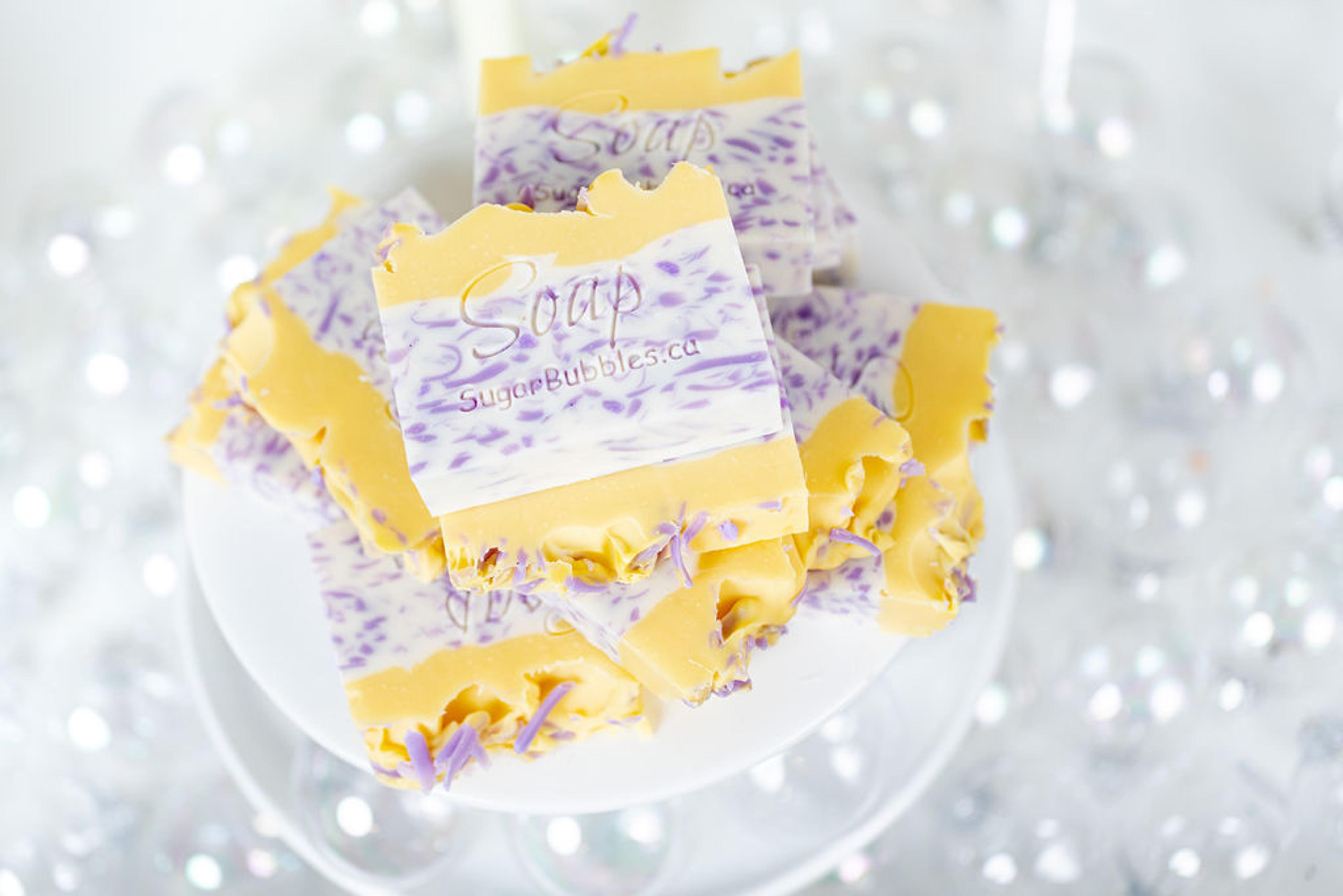 Lemon Over Lavender Soap