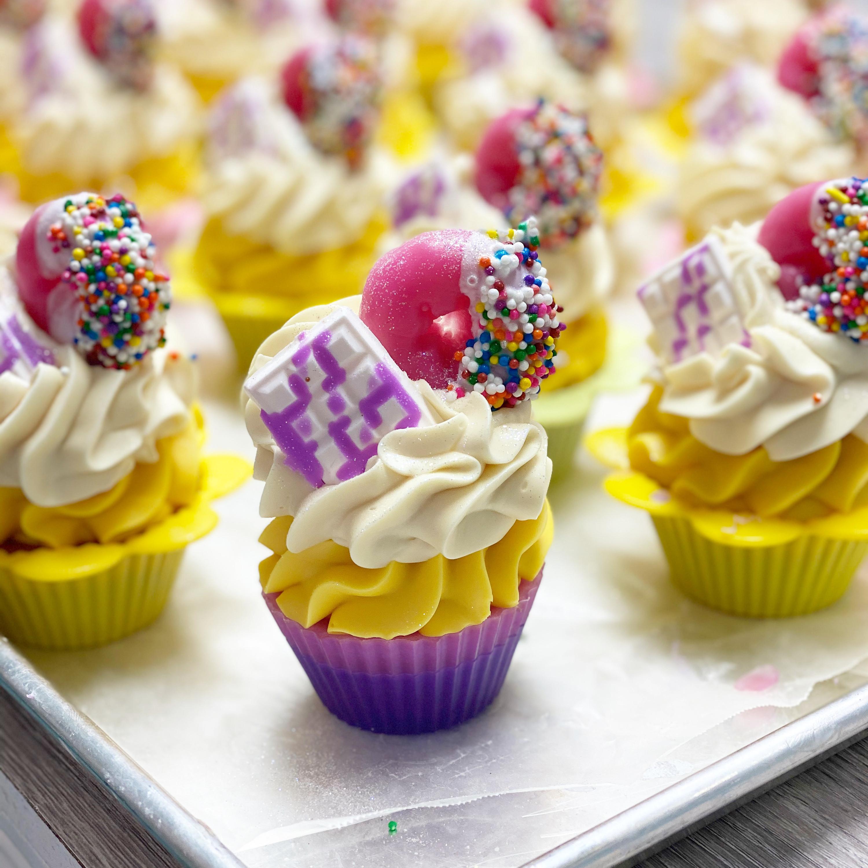 Funfetti Cupcake Soap