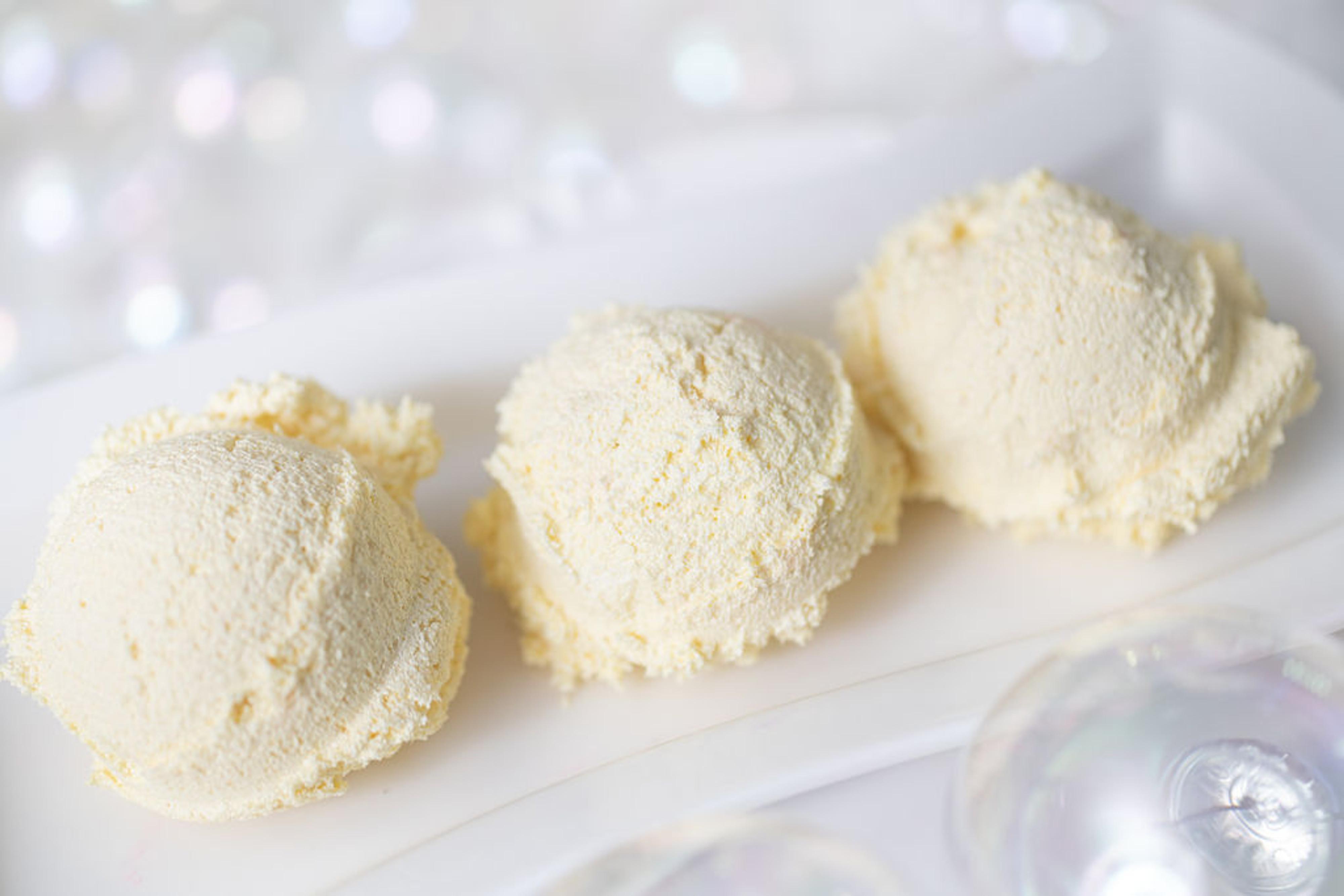 Lemon Fluff Puffs Birthday Cake Lathering Sugar Scrub