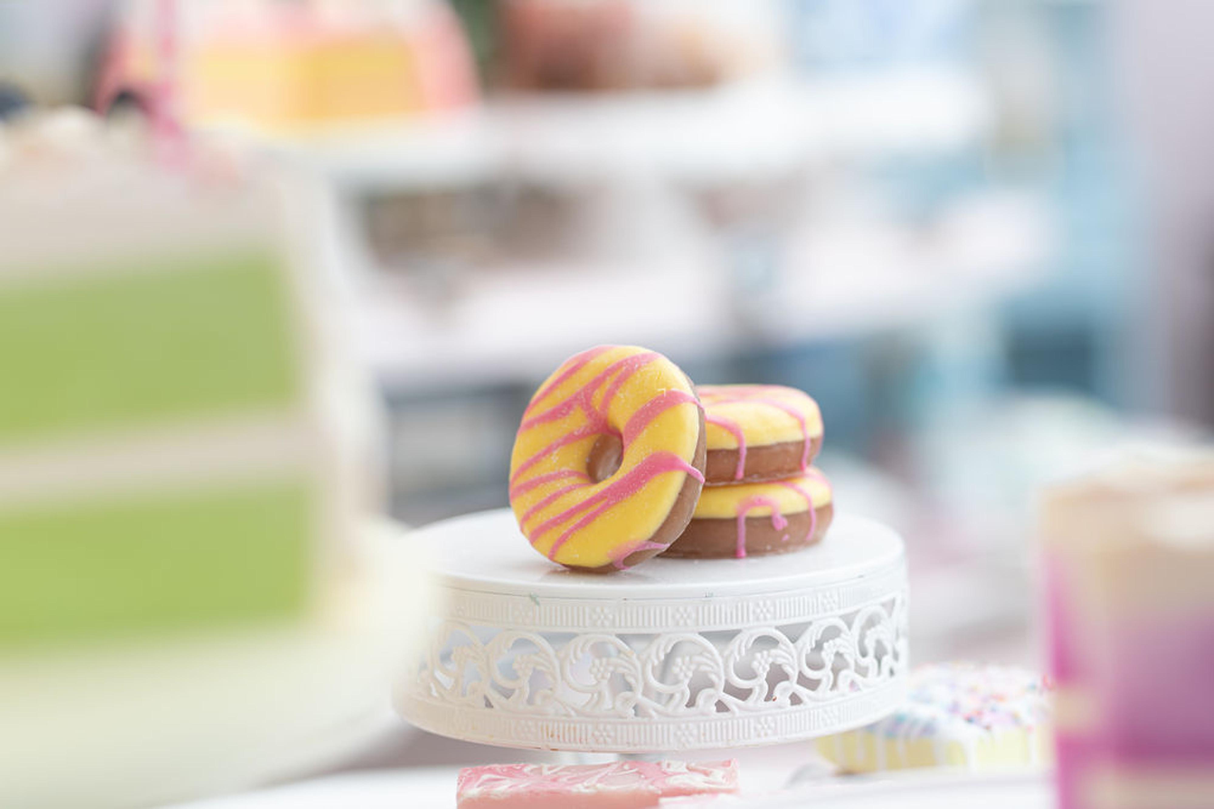 Donut Soap 'Glazed Sugar & Custard Cream'