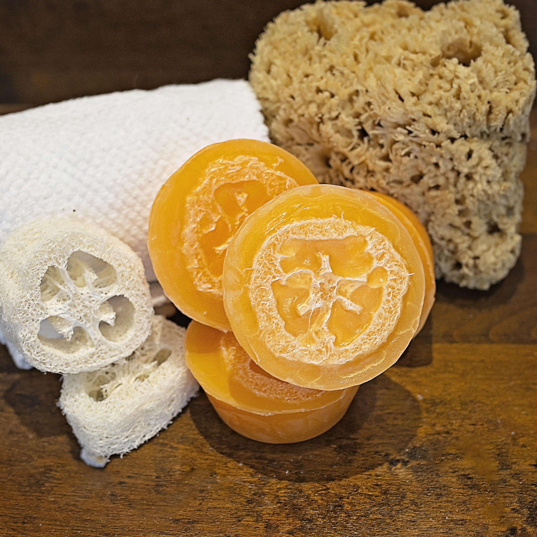 Juicy Grapefruit Loofah Soap