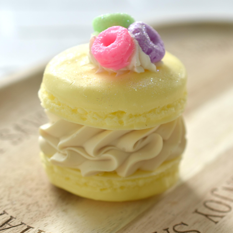 Froot Loops Macaron Soap