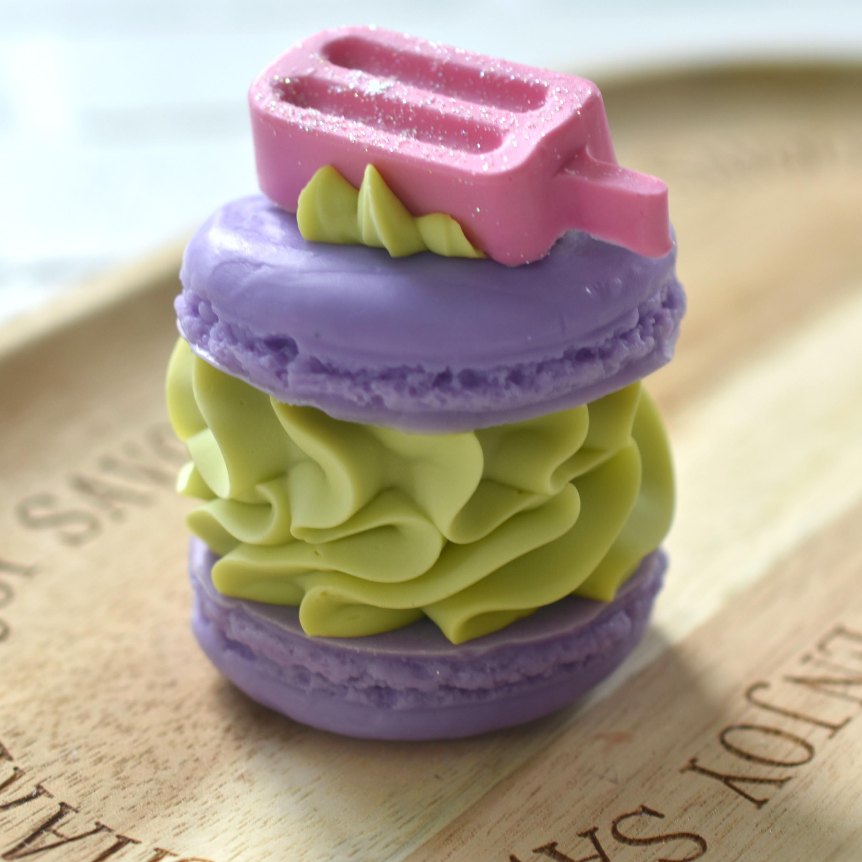 Unicorn Puke Macaron Soap