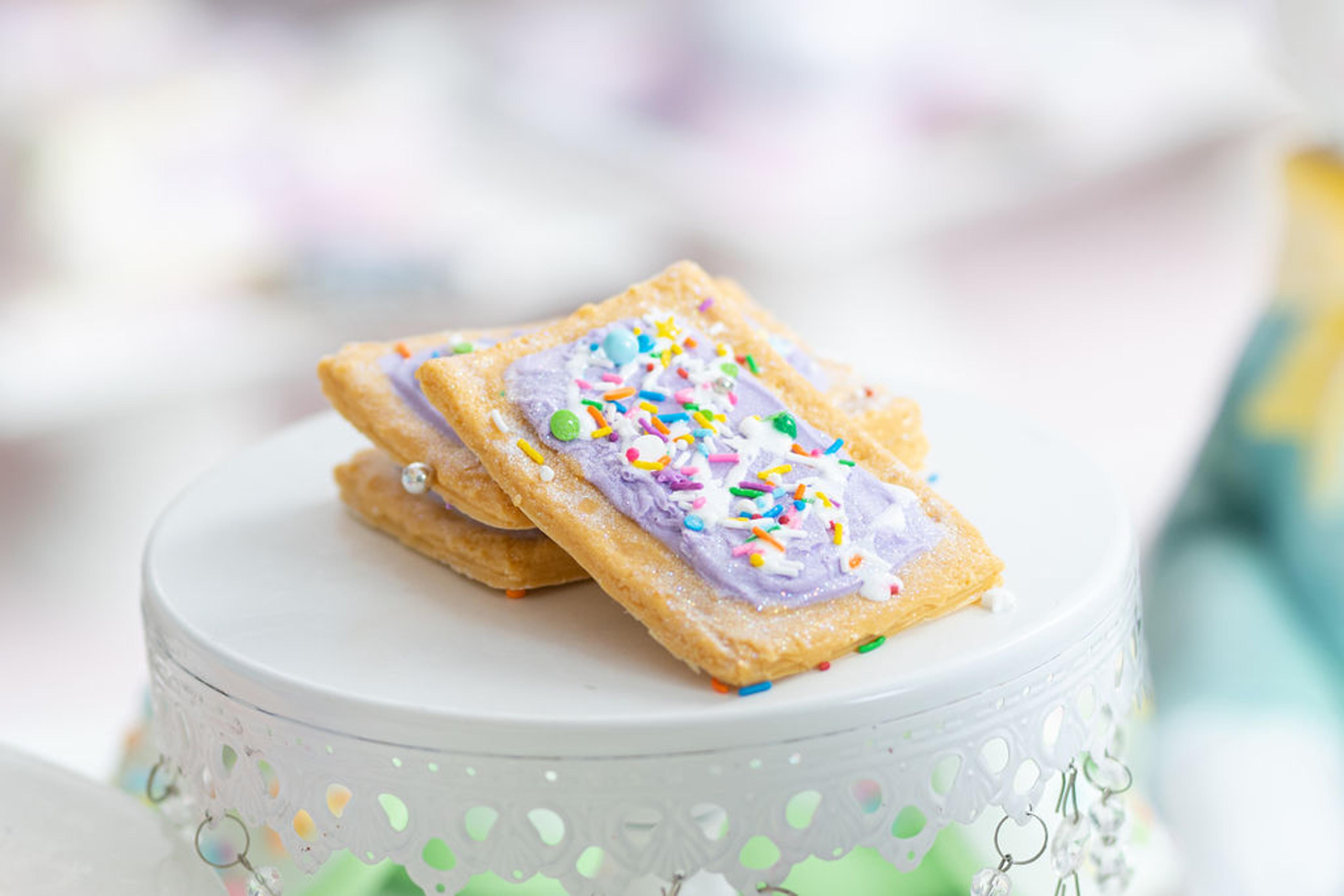 Purple Sugar Pop Tart Soap