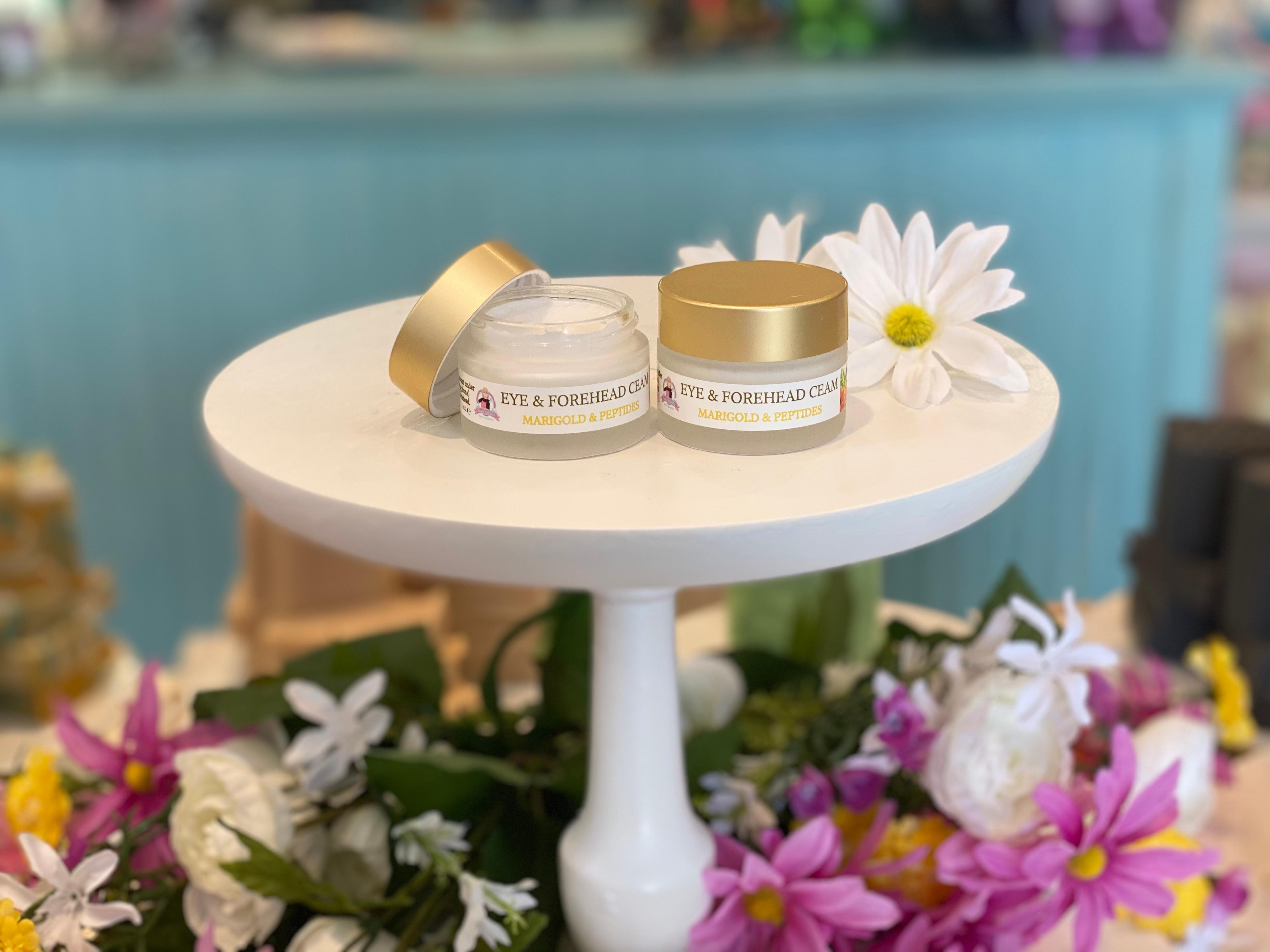 Marigold & Peptides Eye & Forehead Cream