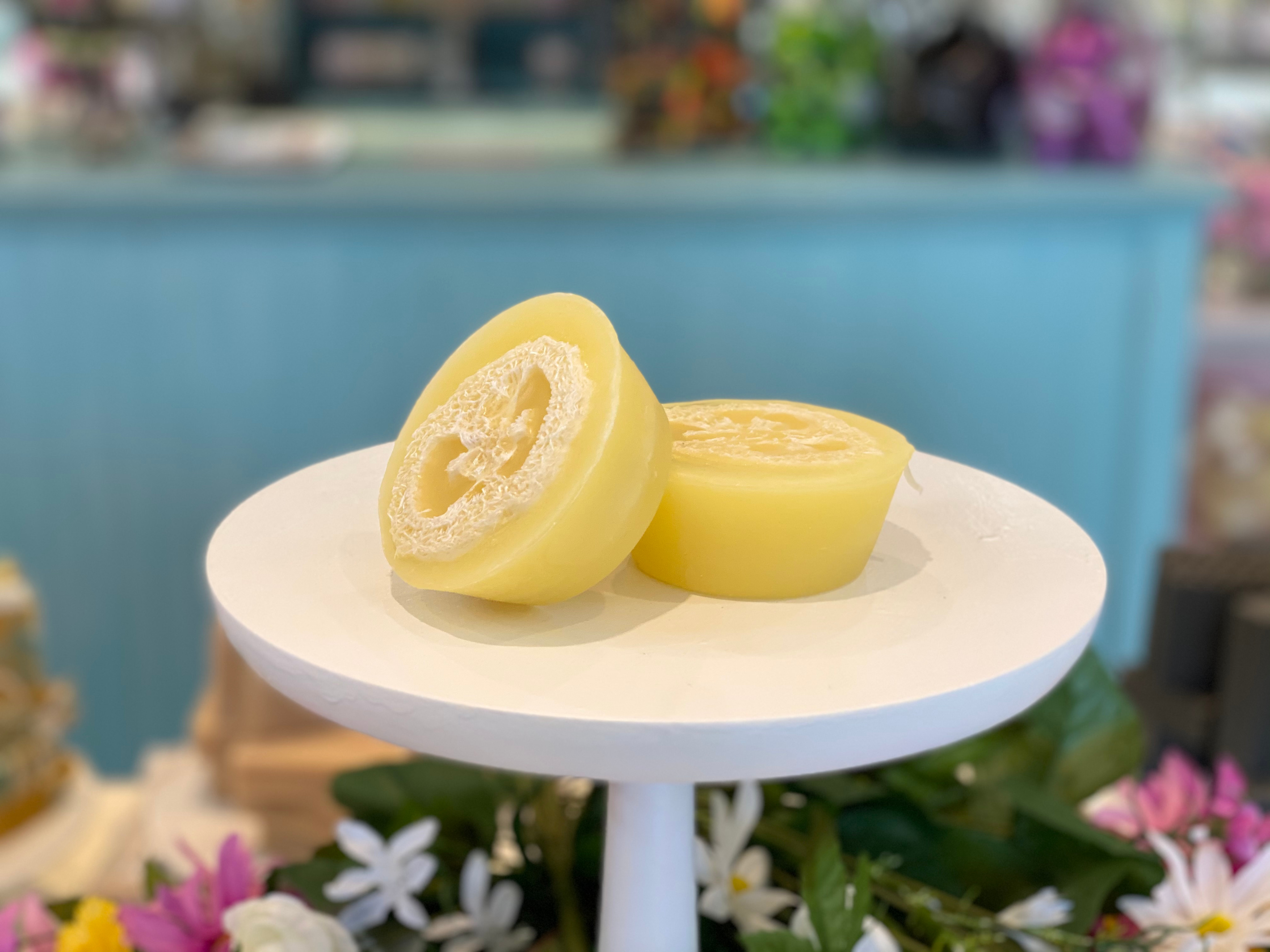 NEW! Pineapple & Coconut Water Loofah Soap