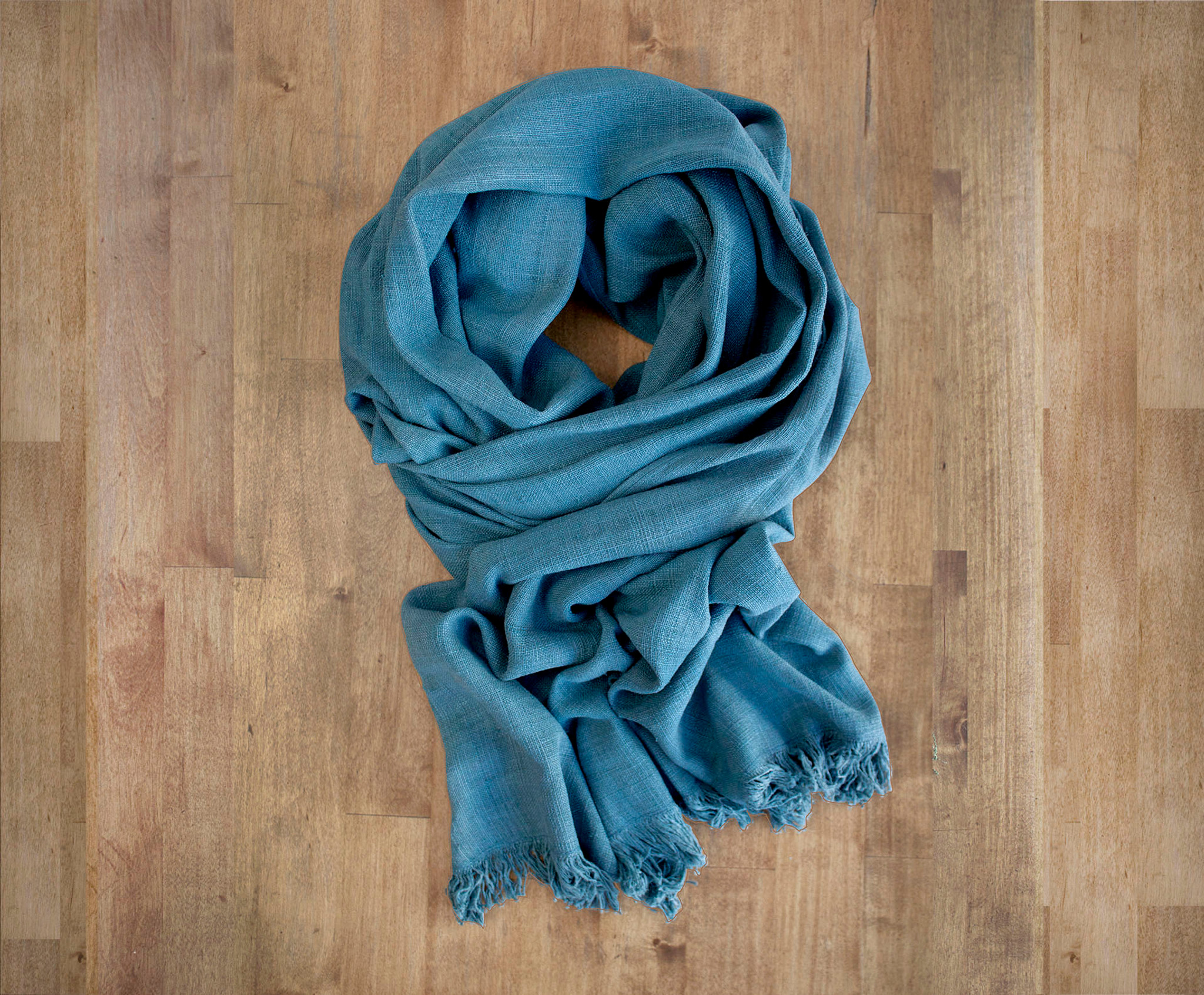 Lotus Storm Traditional Weave Scarf
