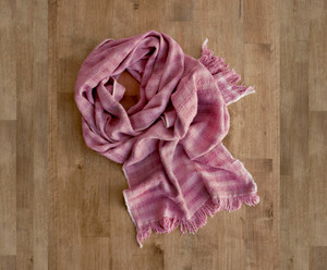 Lotus Pink Alice Weave Scarf