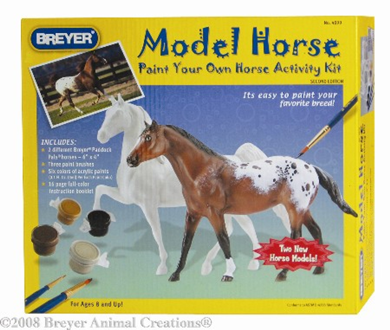 Arts Crafts Breyer Model Horse Paint Your Own Horse Activity Kit Toys Games Arts Crafts