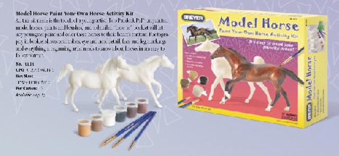 Paint By Number Kits Arts Crafts Breyer Model Horse Paint Your Own Horse Activity Kit Gmc Org Zw