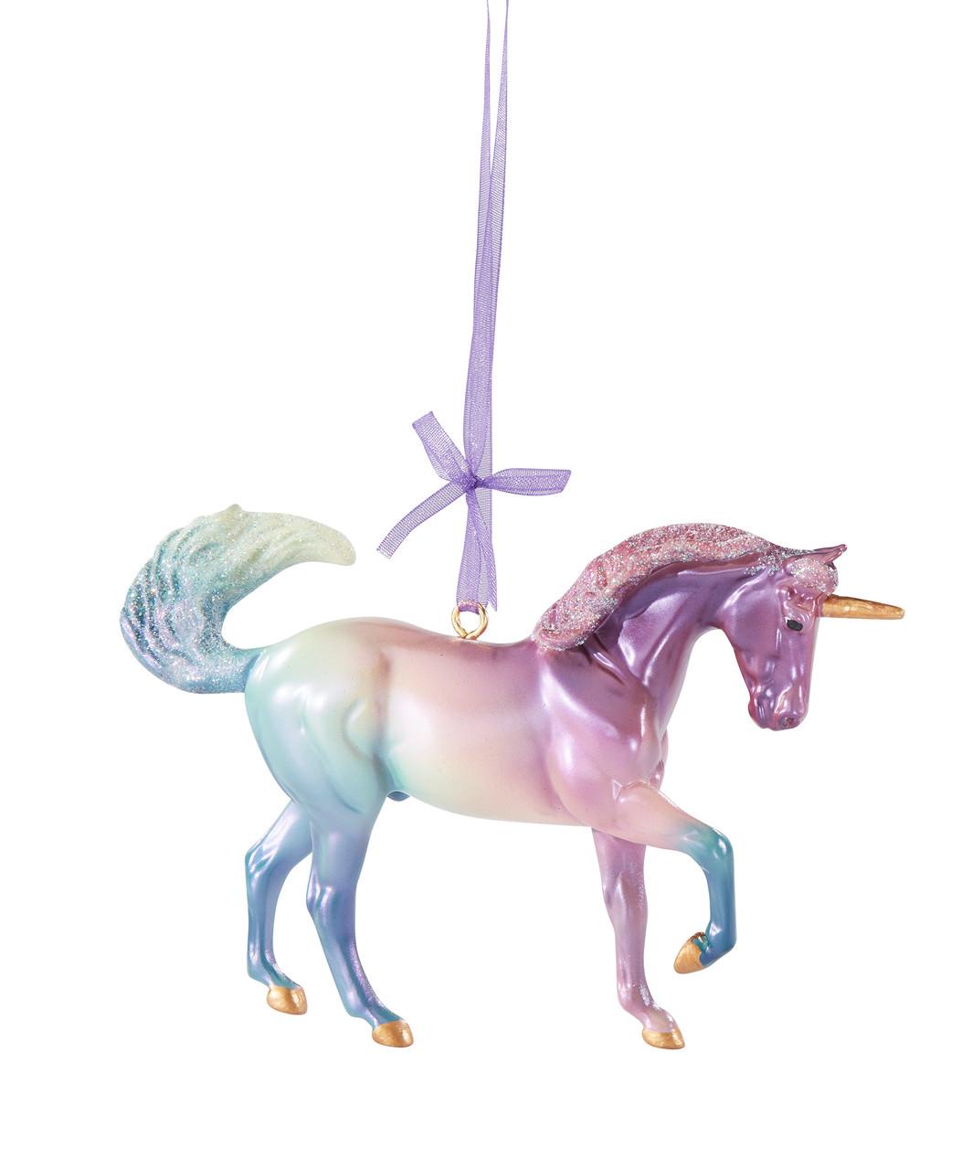 Breyer Horses 2020 Holiday Cosmo Unicorn Ornament Golden Oak Stables