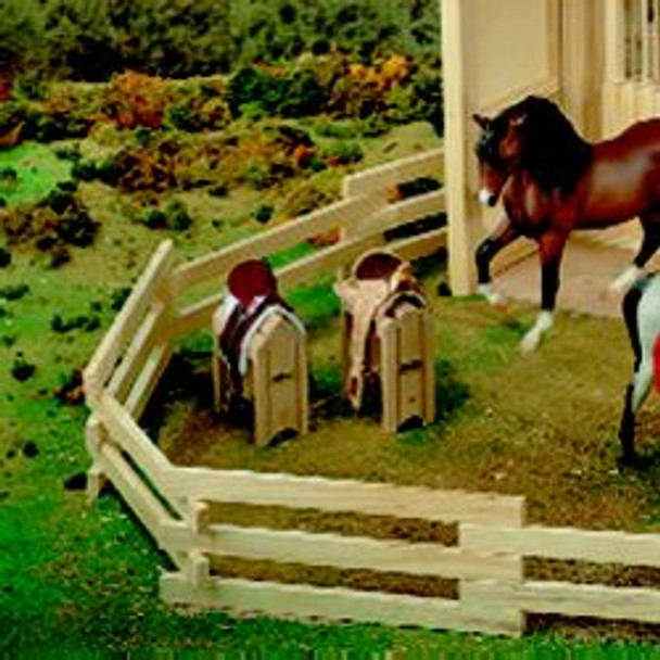Breyer Horses Wood Saddle Stand