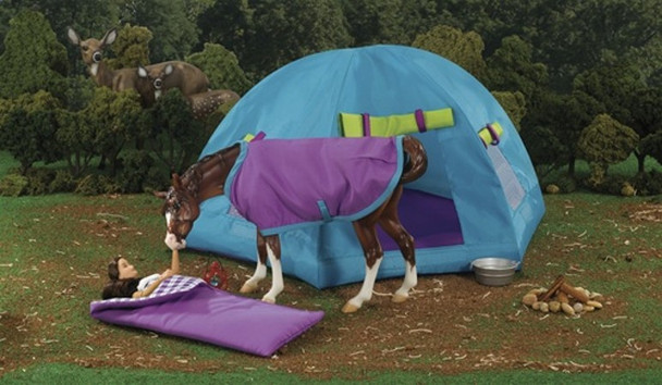 Breyer Horses Back Country Camping Set