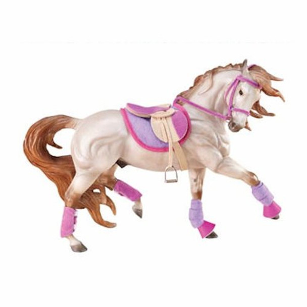 Breyer Horses English Riding Set - Hot Colors PRIME PRICING plus FREE SHIPPING