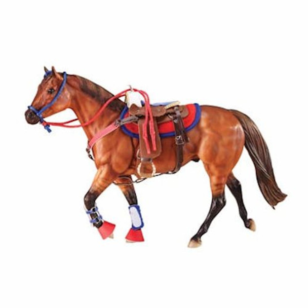 Breyer Horses Western Riding Set in Hot Colors