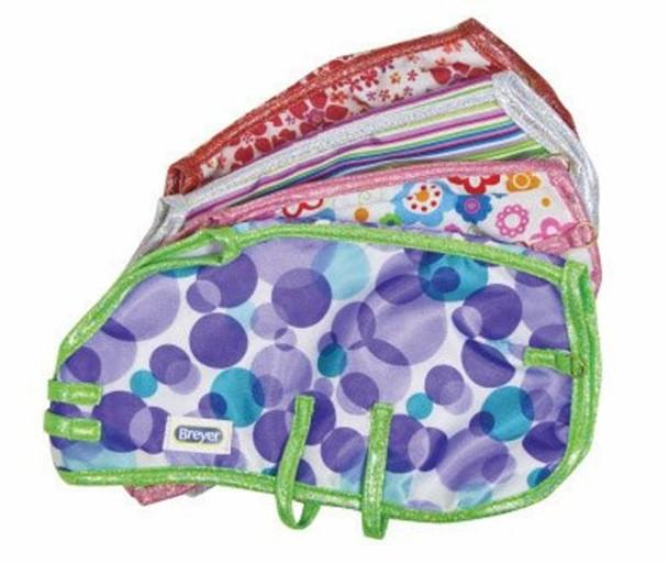 Breyer Horses Colorful Blanket Asst (4 pc set)