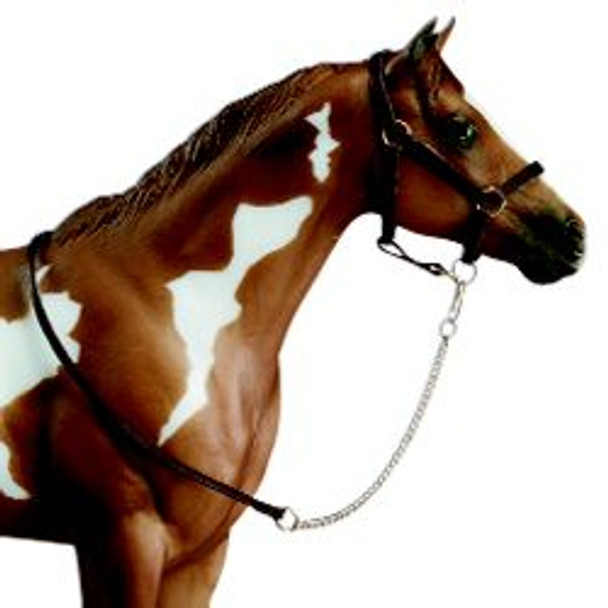 Breyer Horses Leather Halter with Lead Rope