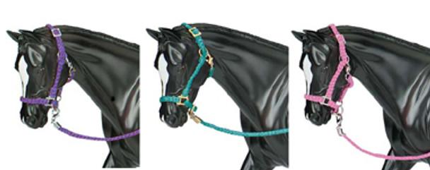 Breyer Horses Nylon Halter Set - Hot Colored