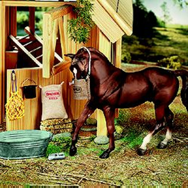 Breyer Horses Stable Feed Set