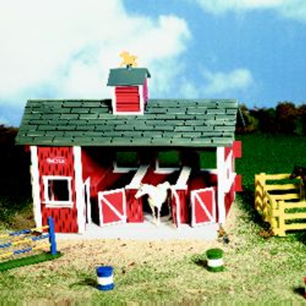 Breyer Horses Little Red Stable Set