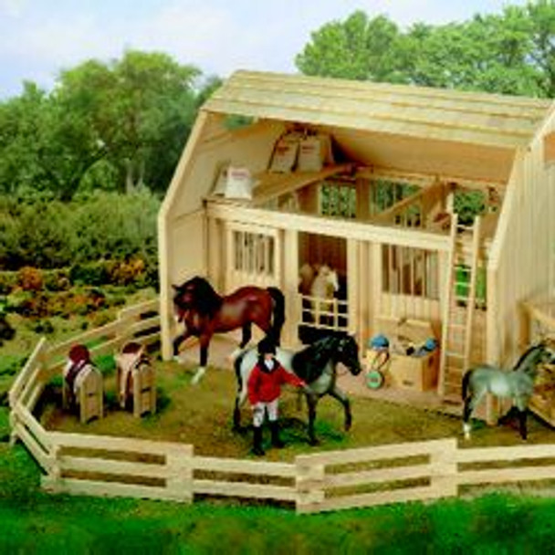 Breyer Horses Wood Corral