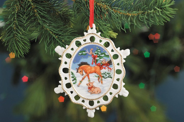 Breyer Horses 2009 Holiday Winter in the Woods Breyer Buddies Ornament