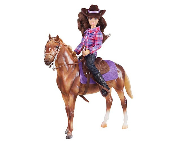 Breyer Horses Classics Western Horse and Rider