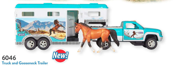 Breyer Horses Stablemates 2019 Truck and Gooseneck Trailer